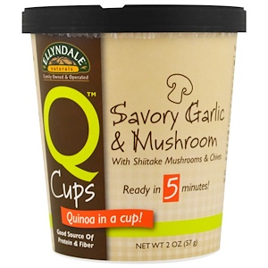 Now Foods, Ellyndale Naturals, Quinoa Cups, Savory Garlic & Mushroom, 2 oz (57 g) отзывы покупателей