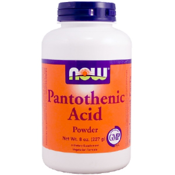 Now Foods, Pantothenic Acid Powder, 8 oz (227 g) (Discontinued Item)
