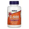 Now Foods, C-500,抗壞血酸鈣-C,100 粒膠囊
