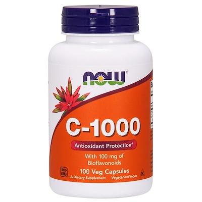 Купить Now Foods C-1000, 100 растительных капсул