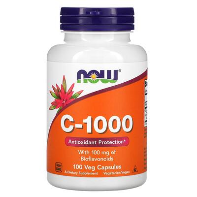 Now Foods C-1000, 100растительных капсул