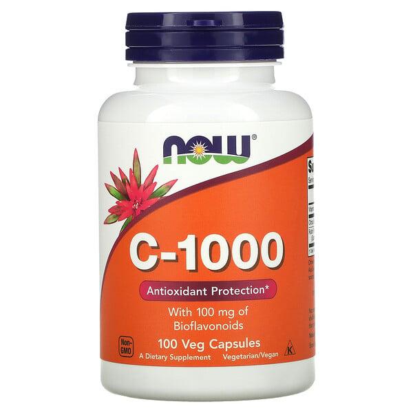 C-1000 with Bioflavonoids, 100 Veg Capsules