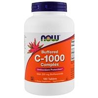 C-1000, Буферизованный C, 180 Таблеток - фото