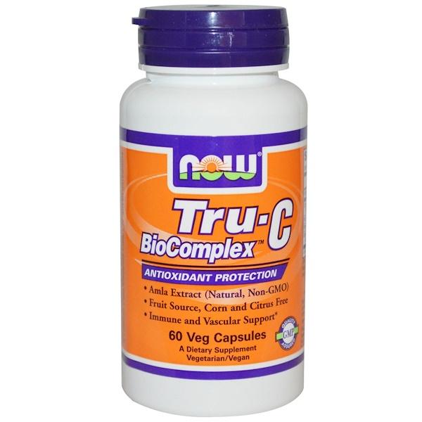 Now Foods, Tru-C BioComplex, 60 Veggie Caps (Discontinued Item)