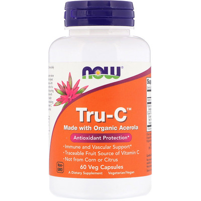 Купить Now Foods Tru-C, 60 вегакапсул