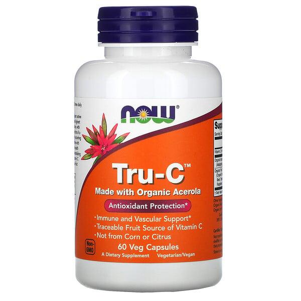 トゥルーC、植物性カプセル60粒