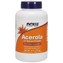 Now Foods, アセロラ4:1エキスパウダー, 6オンス(170 g)