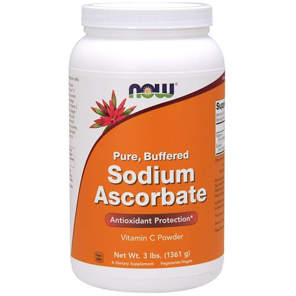 Now Foods, Sodium Ascorbate Powder, 3 lbs (1361 g)