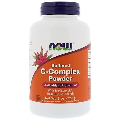 Купить Now Foods Порошок с комплексом буферизованных витаминов С, 227 г (8 унций)