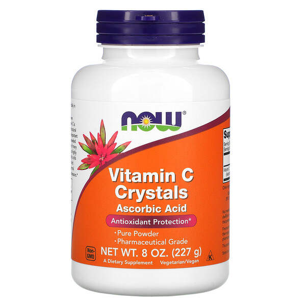 Vitamin C Crystals, 8 oz (227 g)