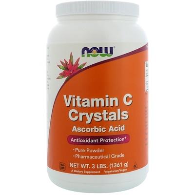 Купить Витамин C в кристаллах, 3 фунта (1361 г)
