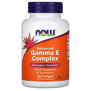 Now Foods, Gamma E Complex, Advanced, 120 Softgels