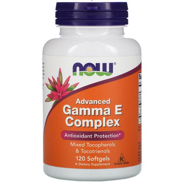 Gamma E Complex, Advanced, 120 Softgels