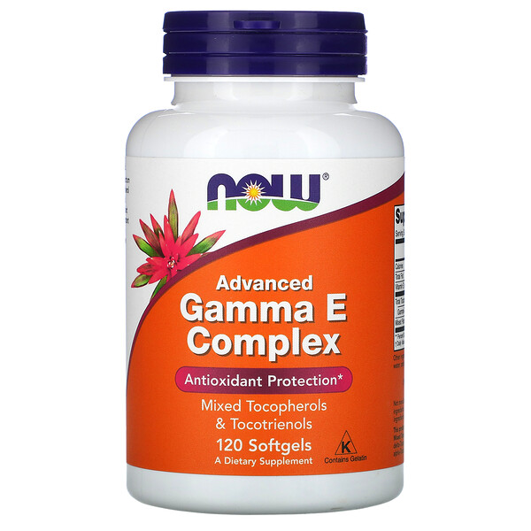 Gamma E Complex, Advanced, 120 Softgels