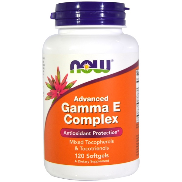 Now Foods, Gamma E Complex, Advanced، 120 كبسولة هلامية