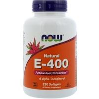 Natural E-400, 250мягких таблеток - фото