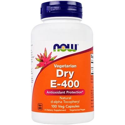 Сухой E-400, вегетарианский продукт, 100 вегетарианских капсул