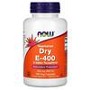 Now Foods, Vegetarian Dry E-400, 268 mg (400 IU), 100 Veg Capsules