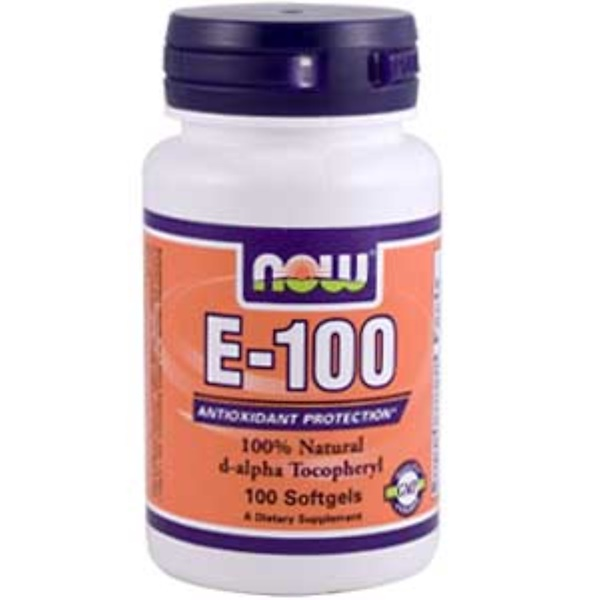Now Foods, E-100, 100 Softgels (Discontinued Item)