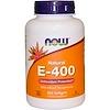 Now Foods, E-400 الطبيعي مع مزيج توكوفيرولس، 250 كبسولة هلامية
