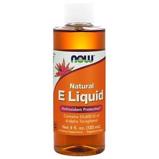 Now Foods, Natural E Liquid, 4 fl oz (120 ml)