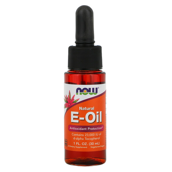 Natural E-Oil, Antioxidant Protection, 1 fl oz (30 ml)