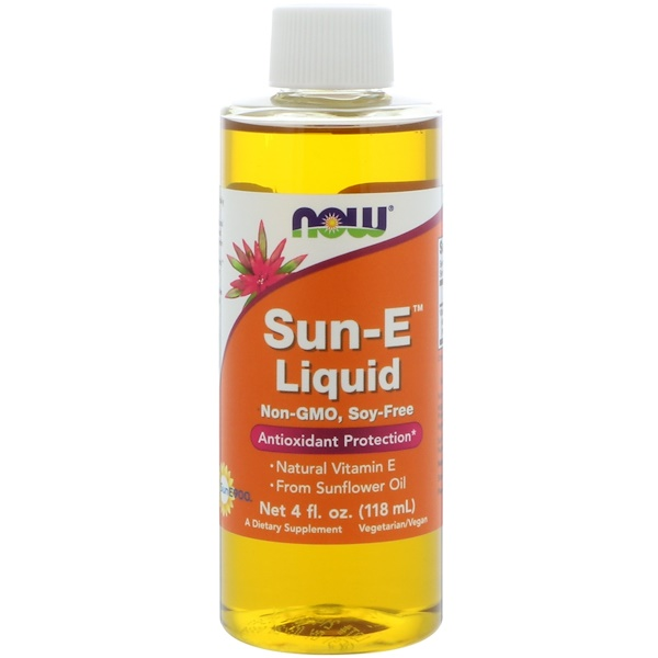 Now Foods, Sun-E Liquid4 أونصة سائلة (118 مل)
