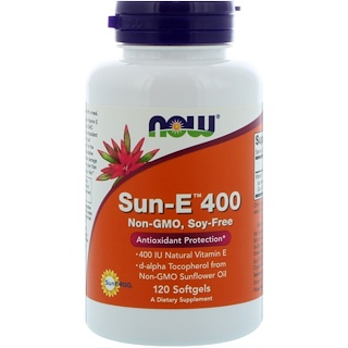 Now Foods, Sun-E 400, 120 Softgels