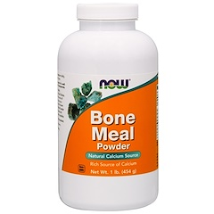 Now Foods, Bone Meal, Powder, 1 lb (454 g)