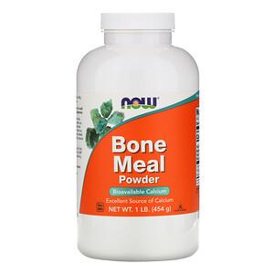 Now Foods, Bone Meal, Powder, 1 lb (454 g) отзывы