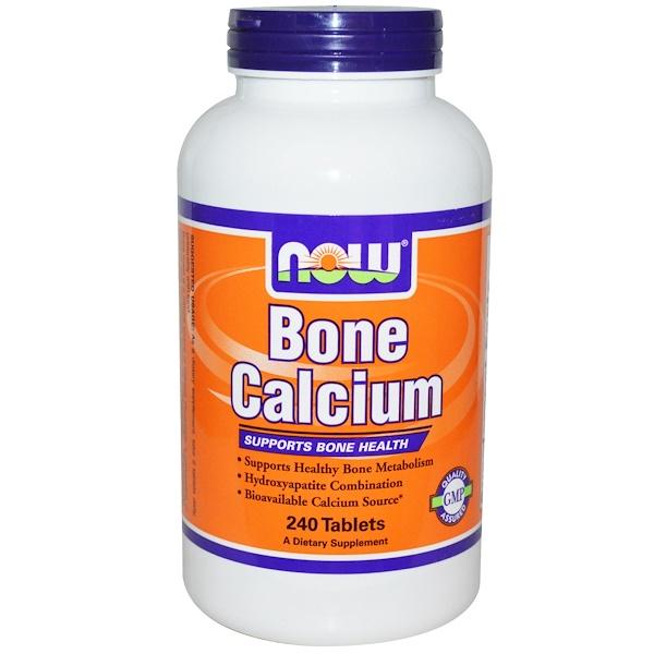 Now Foods, Bone Calcium, 240 Tablets (Discontinued Item)