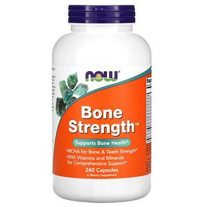 Now Foods, Bone Strength, 240 Capsules отзывы покупателей