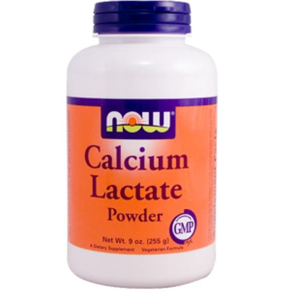Now Foods, Calcium Lactate Powder, 9 oz (255 g) (Discontinued Item)
