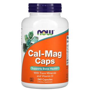 Now Foods, Cal-Mag Caps, 240 Capsules отзывы покупателей