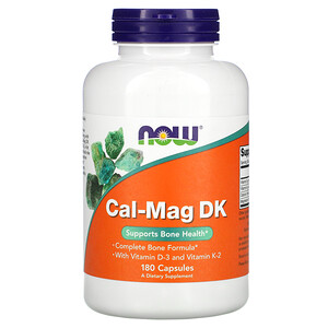 Now Foods, Cal-Mag DK, 180 Capsules отзывы
