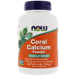 Now Foods, Coral Calcium Powder, 6 oz (170 g)