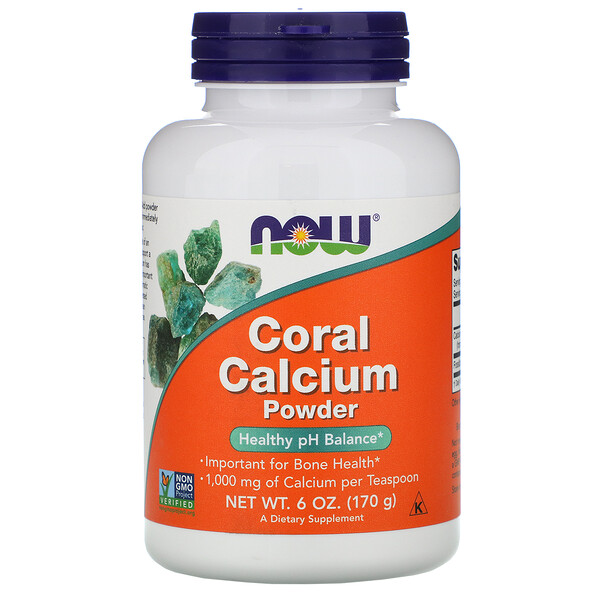 Now Foods, Coral Calcium Powder, 6 oz (170 g) (Discontinued Item)