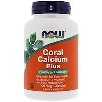 Коралловый кальций Плюс, 100 капсул в растительной оболочке - фото