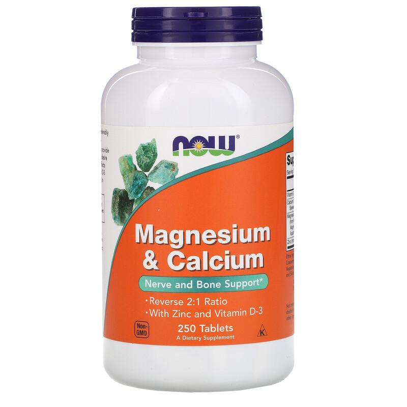 Magnesium & Calcium, 250 Tablets