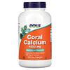 Now Foods, コーラルカルシウム 1,000 mg, 250 ベジカプセル