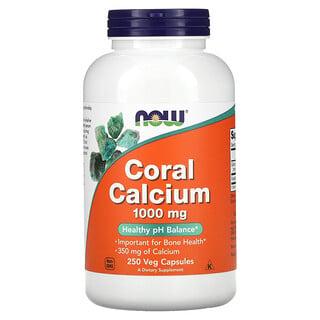 Now Foods, Coral Calcium, 1,000 mg, 250 Veg Capsules
