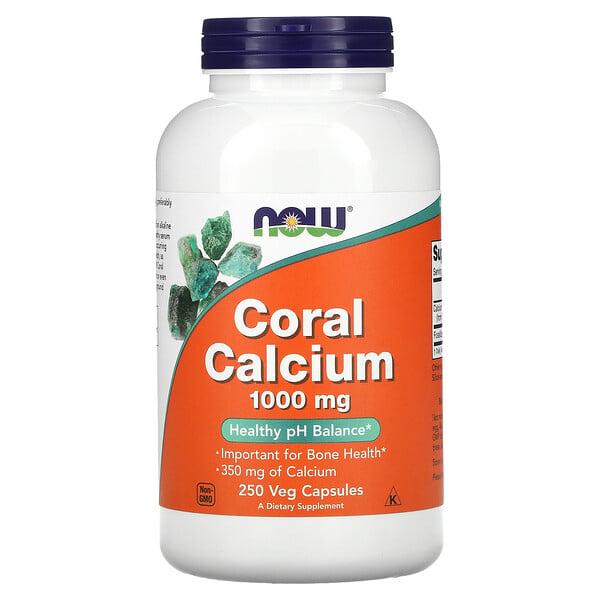 コーラルカルシウム 1,000 mg, 250 ベジカプセル