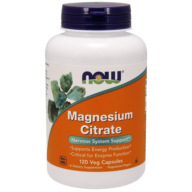 Magnesium Citrate, 120 Veg Capsules