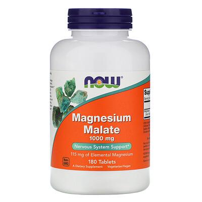 Яблочнокислый магний, 1000 мг, 180 таблеток магний 250 мг 110 таблеток