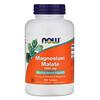 Now Foods, Malato de Magnésio, 1.000 mg, 180 Comprimidos