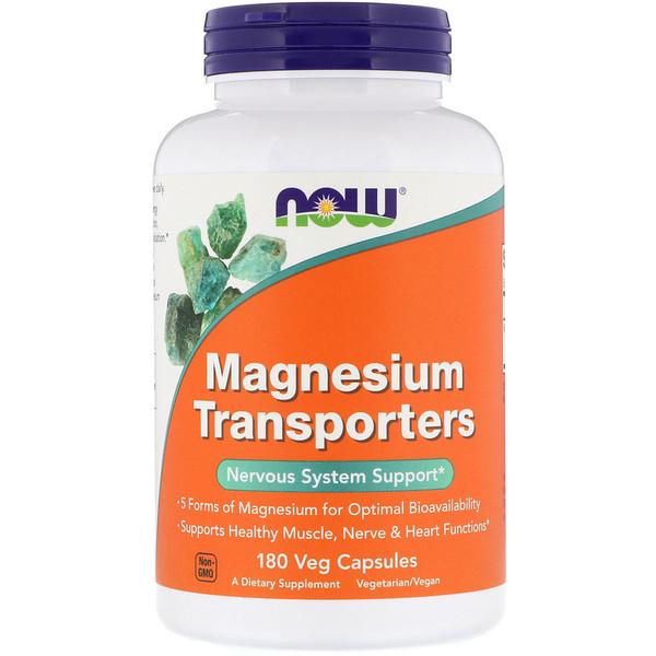 マグネシウムトランスポーターズ、植物性カプセル180粒