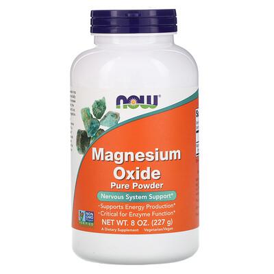 Купить Now Foods Чистый порошок оксида магния, 227 г (8 унций)