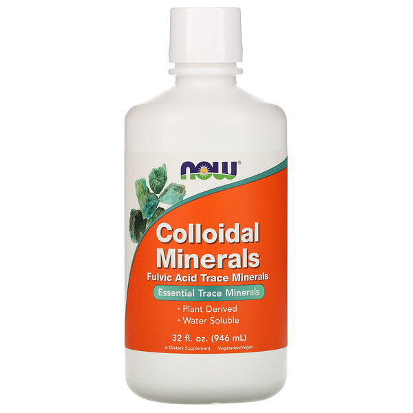 Minerales coloidales, 32 fl oz (946 ml)