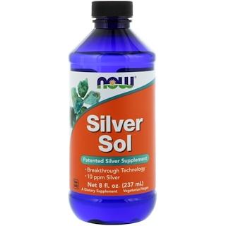 Now Foods, Sol de plata, 8 fl oz (237 ml)