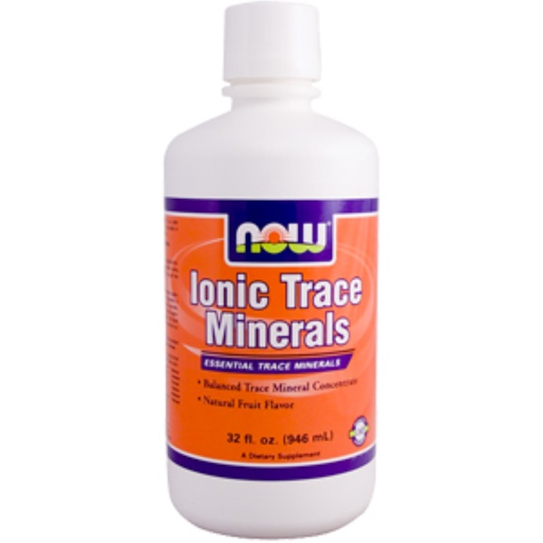 Now Foods, Ionic Trace Minerals, 32 fl oz (946 ml) (Discontinued Item)